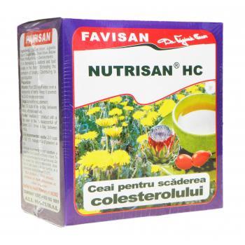 Nutrisan hc- ceai hipocolesterolemiant a035 50 gr FAVISAN