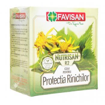 Nutrisan r2- ceai pentru protectia rinichilor a045 50 gr FAVISAN