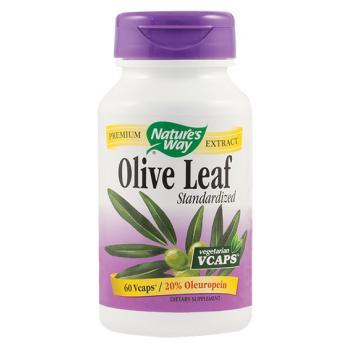 Olive leaf standardized 60 cps NATURES WAY