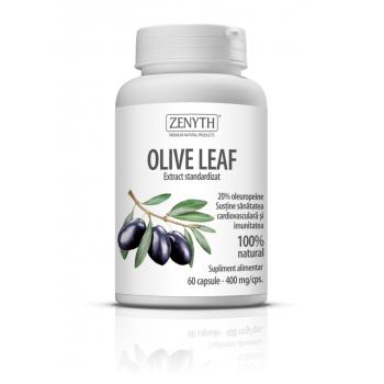Olive leaf, sustine sanatatea cardiovasculara si imunitatea 60 cps ZENYTH