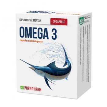 Omega 3 -capsule cu ulei de peste 30 cps PARAPHARM