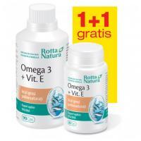 Omega 3 + vitamina e - pachet promotional 1 + 1