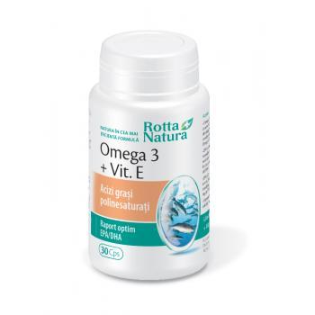 Omega 3 + vitamina e 30 cps ROTTA NATURA