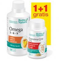 Omega 3-6-9 + coenzima q10 15 mg