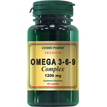Omega 3-6-9 complex 1206mg 60 cps COSMOPHARM