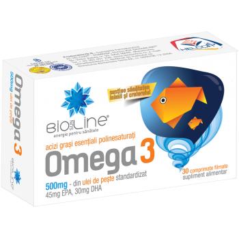 Omega 3 30 cpr BIO SUN LINE