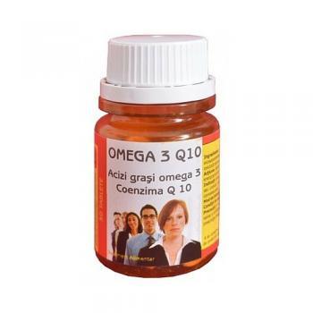 Omega 3 & coenzima q10 30 cpr BIO SUN LINE