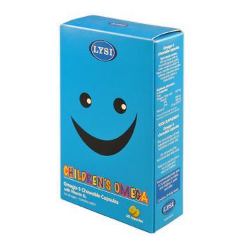 Omega 3 cu vitamina d3 pentru copii 60 cps LYSI