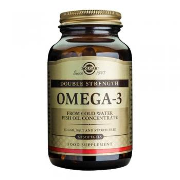 Omega 3 double strength 60 cps SOLGAR