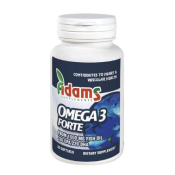 Omega 3 forte  30 cps ADAMS SUPPLEMENTS