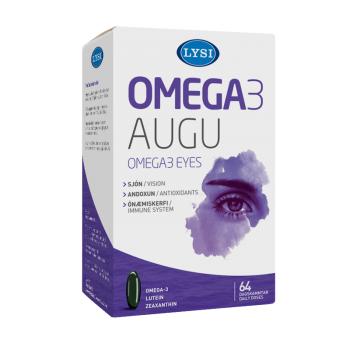 Omega 3 ochi sanatosi  64 cps LYSI