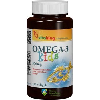 Omega 3 pentru copii 100 cps VITAKING