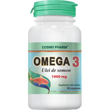 Omega 3 ulei de somon 30 cps COSMOPHARM