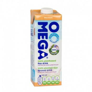 Omega lapte de in cu vitamine calciu si caramel 1 ml SANO VITA