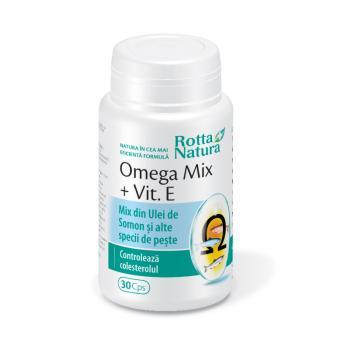 Omega mix + vitamina e 30 cps ROTTA NATURA