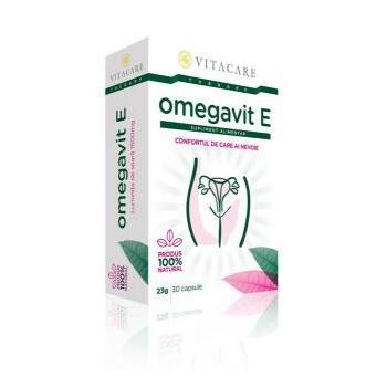 Omegavit e 30 cps VITACARE