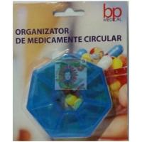 Organizator de medicamente circular bp medical