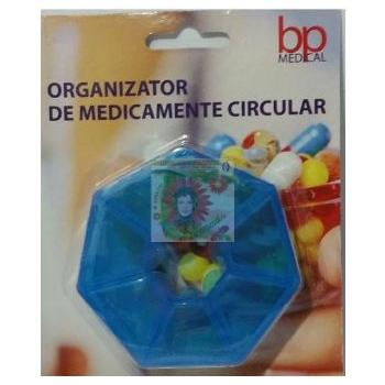Organizator de medicamente circular bp medical 1 gr SANA EST