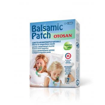 Otosan plasture balsamic pentru adulti si copii  7 bucati per cutie 1 gr OTOSAN