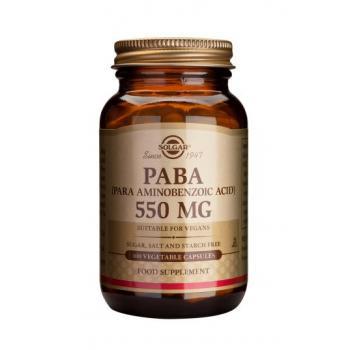 Paba 550 mg 100 cps SOLGAR