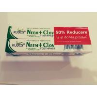 Pachet promotional pasta de dinti 1+1 50% reducere KUDOS