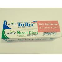 Pachet promotional pasta de dinti +gel de dinti 1+1 50% reducere