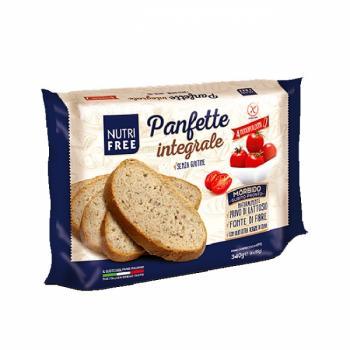 Paine feliata integrala fara gluten 340 gr NUTRIFREE