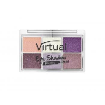 Paleta 6 farduri de pleoape i love it 022 mamma mia 8.5 gr VIRTUAL EYE SHADOW