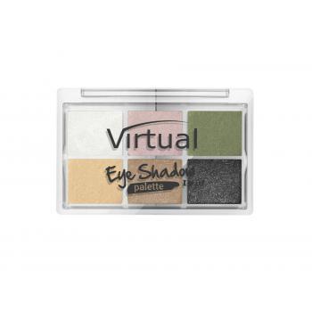 Paleta 6 farduri de pleoape i love it 023 elegance 8.5 gr VIRTUAL EYE SHADOW