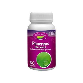 Pancreas stimulent 60 cps INDIAN HERBAL
