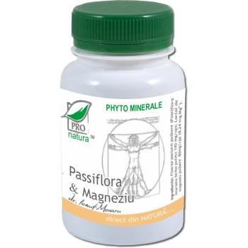 Passiflora & magneziu 60 cps PRO NATURA