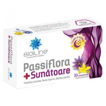 Passiflora + sunatoare 30 cpr BIO SUN LINE