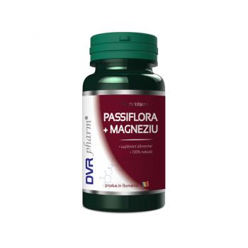 Passiflora+magneziu 60 cps DVR PHARM