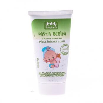 Pasta bebini, crema pentru piele iritata la copii 50 ml INFOFARM