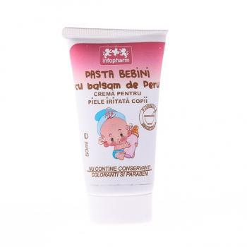 Pasta bebini cu balsam de peru pentru copii 50 ml INFOFARM