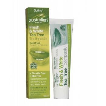 Pasta de dinti cu ulei din arbore de ceai australian 100 gr HERBALSANA