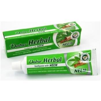 Pasta de dinti herbal cu frunze de neem 100 gr HERBALSANA