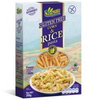 Paste din porumb si orez fara gluten si multe proteine-penne