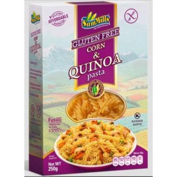 Paste din porumb si quinoa fara gluten - spirale 250 gr SAM MILLS