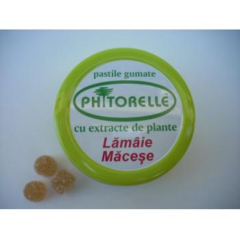 Pastile gumate cu lamaie si macese (phitorelle) 50 gr DIOMSANA