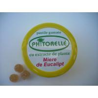 Pastile gumate cu miere de eucalipt (phitorelle)