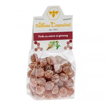 Perle cu miere si ginseng 100 gr ALBINA CARPATINA