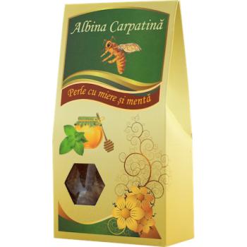 Perle cu miere si menta 100 gr ALBINA CARPATINA