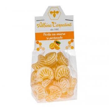 Perle cu miere si portocale 100 gr ALBINA CARPATINA