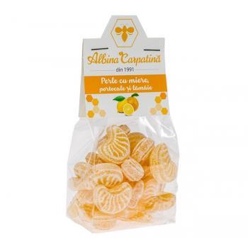 Perle cu miere.lamaie si portocale 100 gr ALBINA CARPATINA