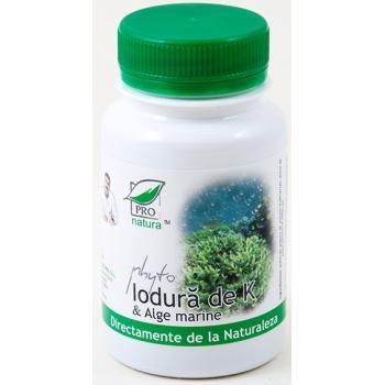 Phyto iodura de k & alge marine 60 cps PRO NATURA