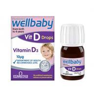 Picaturi wellbaby vitamin d