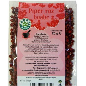 Piper roz boabe 20 gr HERBALSANA