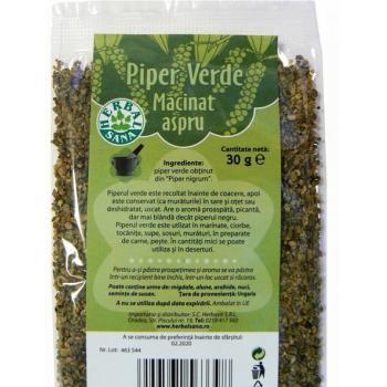 Piper verde macinat aspru 30 gr HERBALSANA