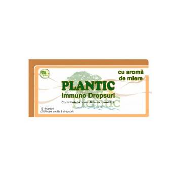 Plantic immuno dropsuri aroma miere  16 gr PLANTIC